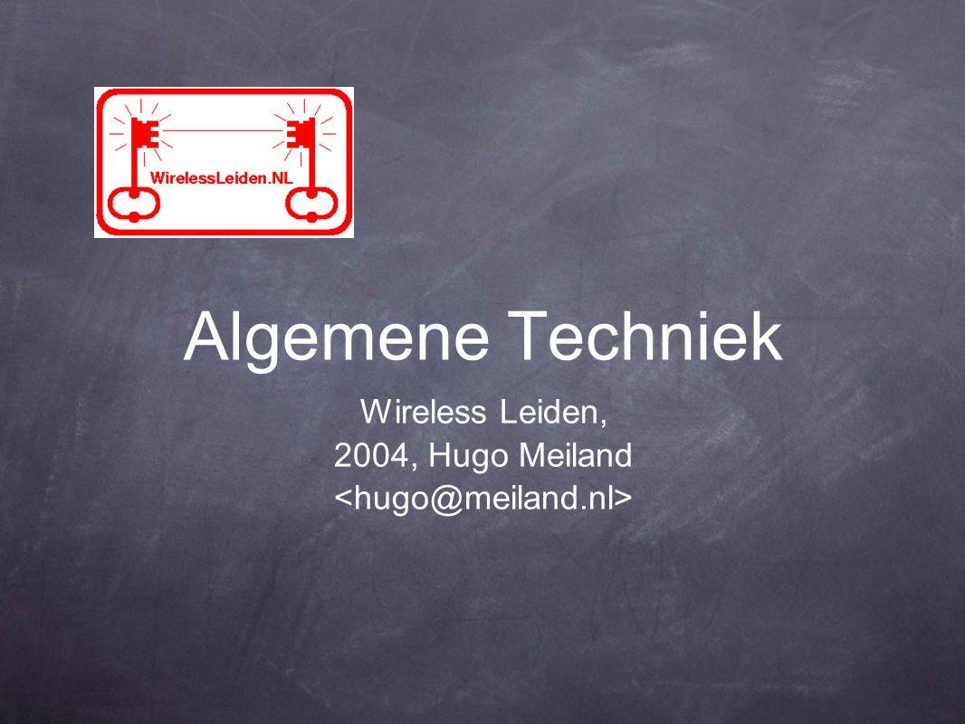 Algemene Techniek Wireless Leiden, 2004, Hugo Meiland