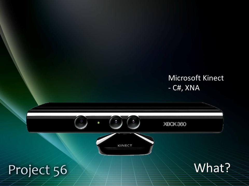 What Microsoft Kinect - C#, XNA