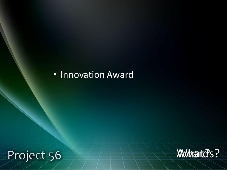 Innovation Award Awards What