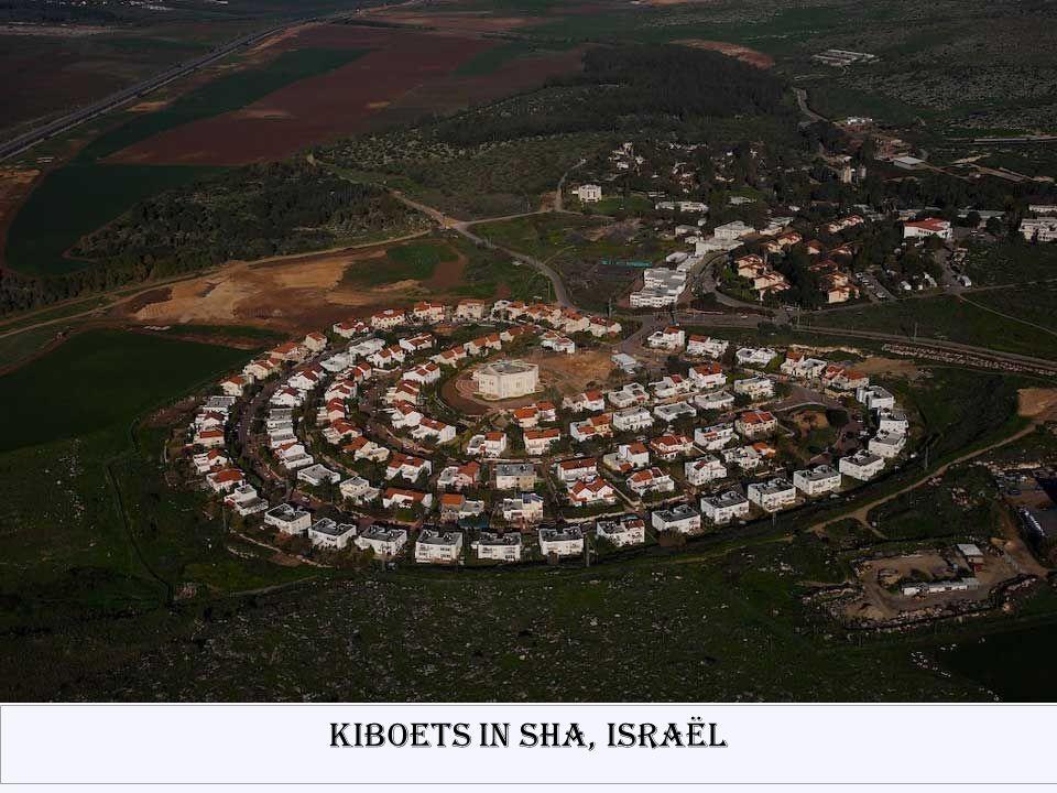Kiboets in Sha, Israël