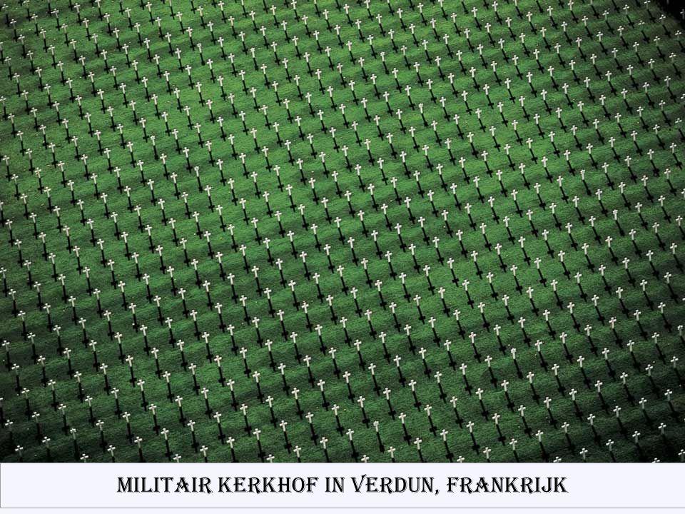 Militair kerkhof in Verdun, Frankrijk