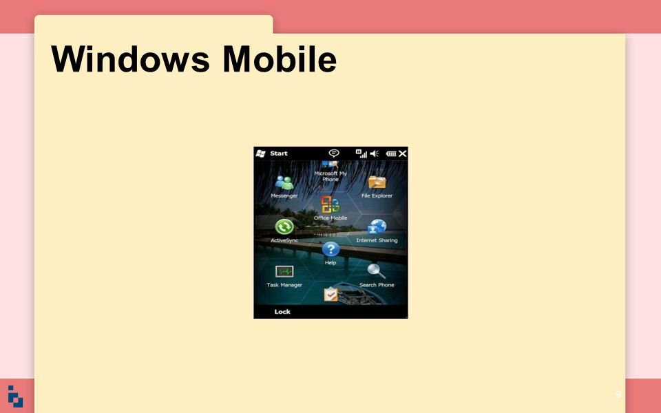 Windows Mobile 9