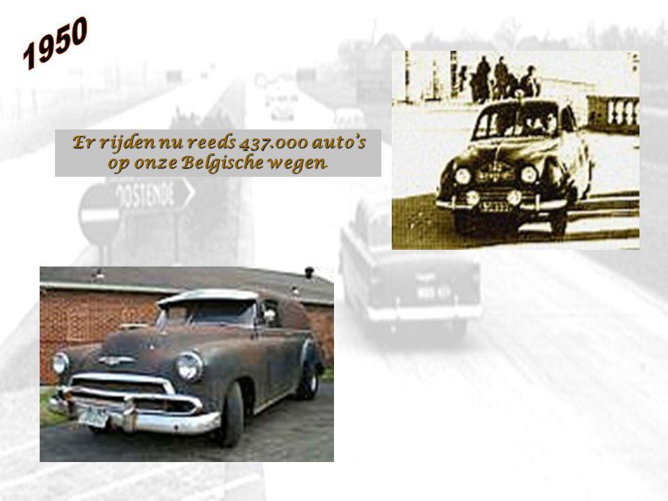 Er rijden nu reeds 437.000 auto's op onze Belgische wegen.