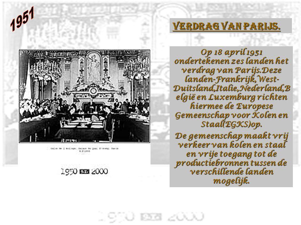 Officiële start van de nationale televisie Op 31 oktober 1953.