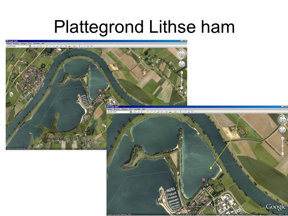 Plattegrond Lithse ham