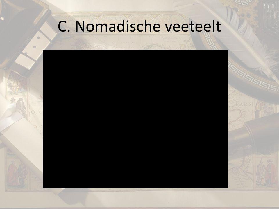 C. Nomadische veeteelt