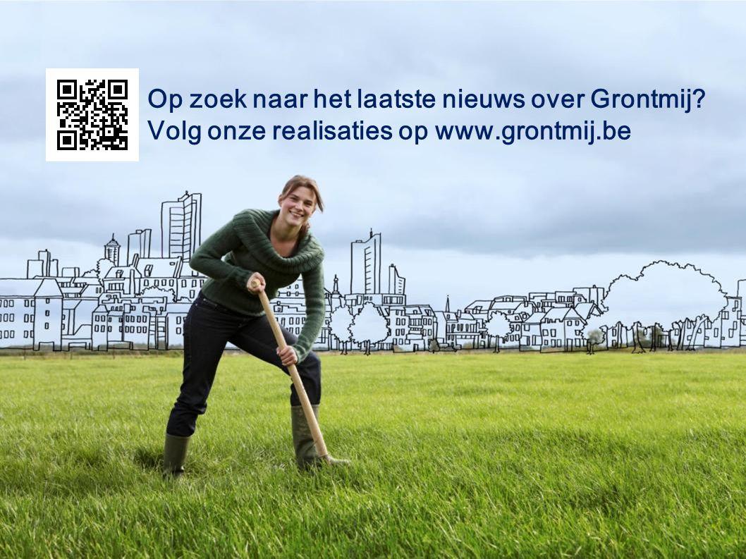 Op zoek naar het laatste nieuws over Grontmij Volg onze realisaties op www.grontmij.be