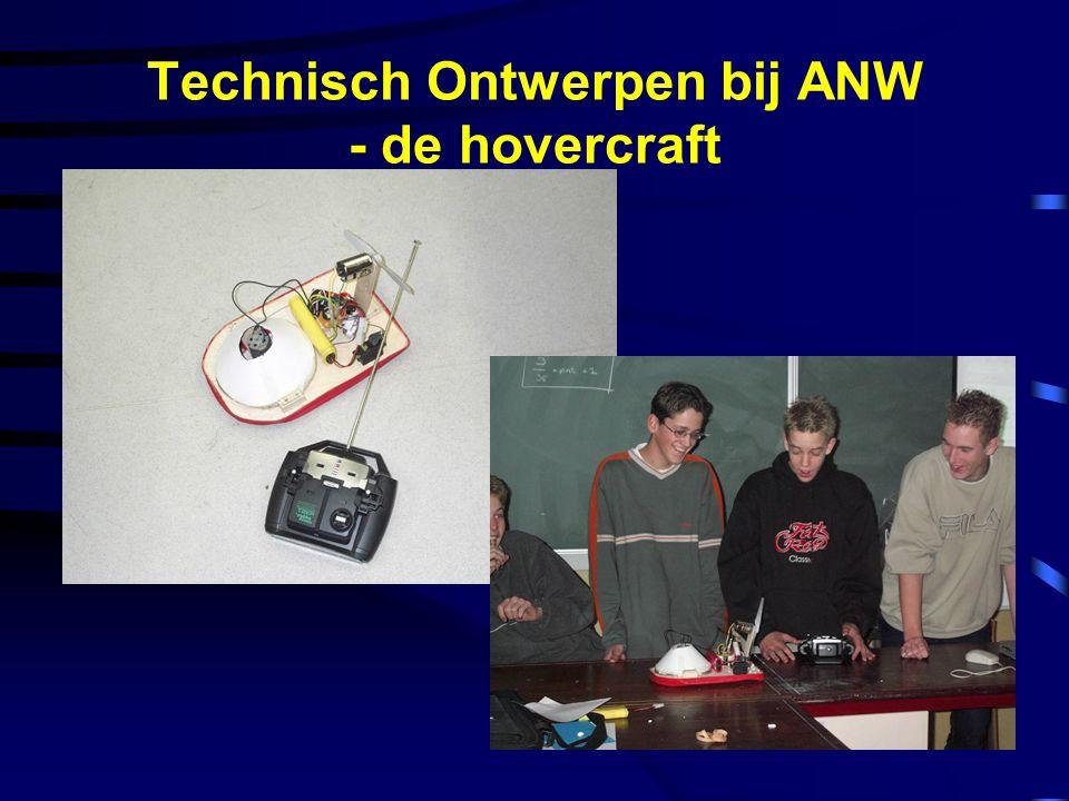 Technisch Ontwerpen bij ANW - de hovercraft