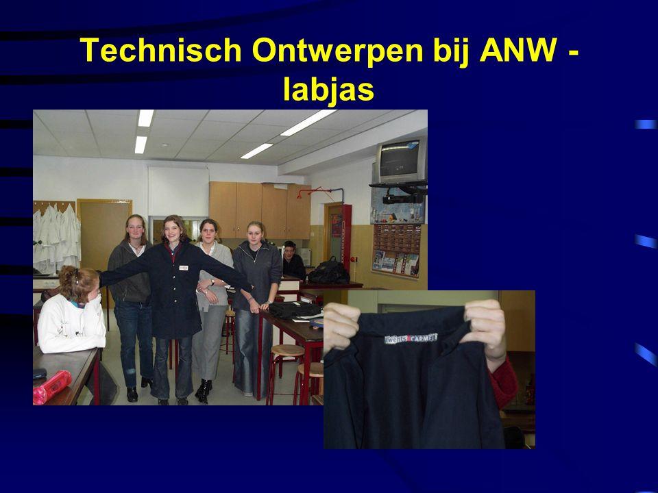 Technisch Ontwerpen bij ANW - labjas