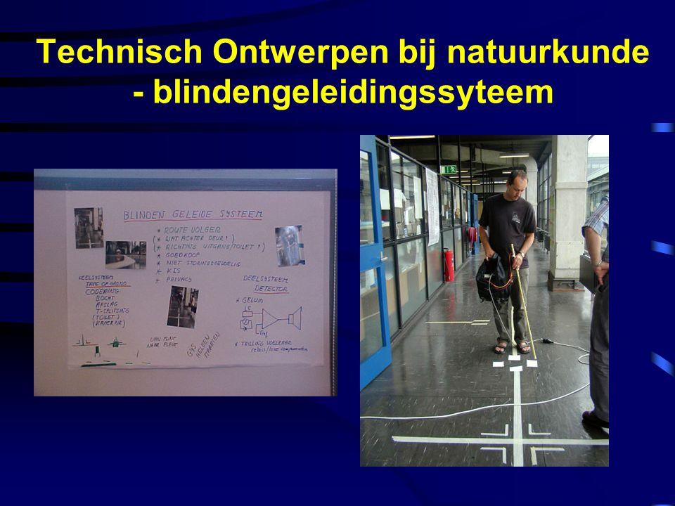 Technisch Ontwerpen bij natuurkunde - blindengeleidingssyteem