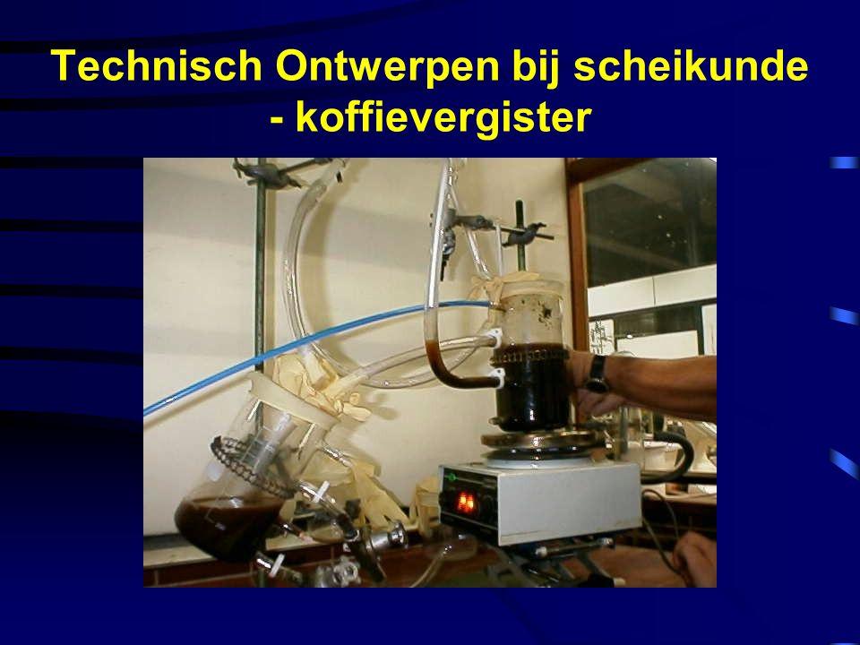 Technisch Ontwerpen bij scheikunde - koffievergister