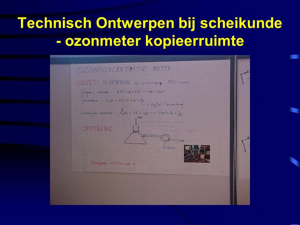 Technisch Ontwerpen bij scheikunde - ozonmeter kopieerruimte