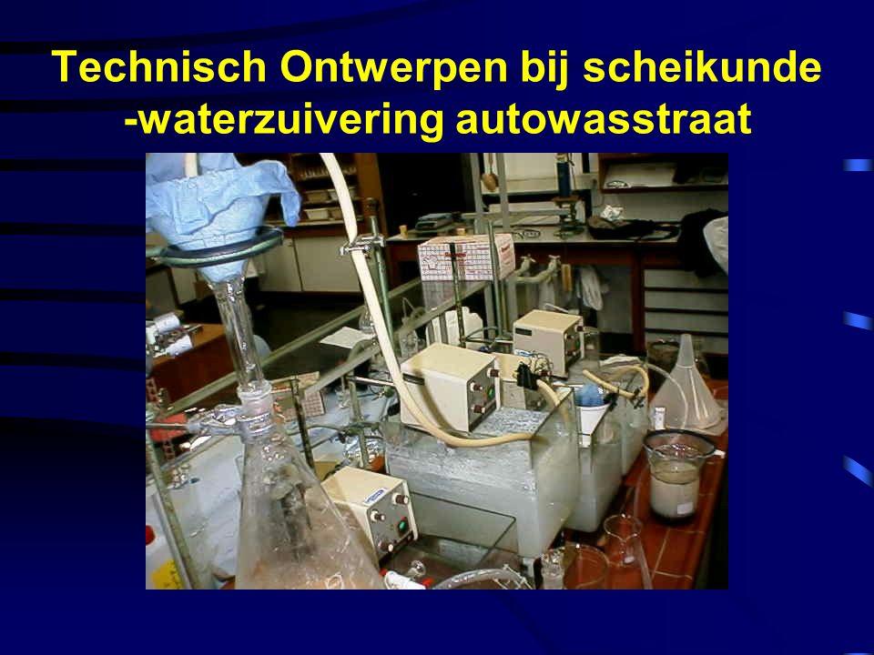 Technisch Ontwerpen bij scheikunde - autolak op waterbasis