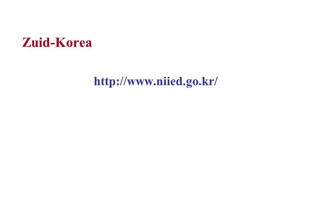 Zuid-Korea http://www.niied.go.kr/