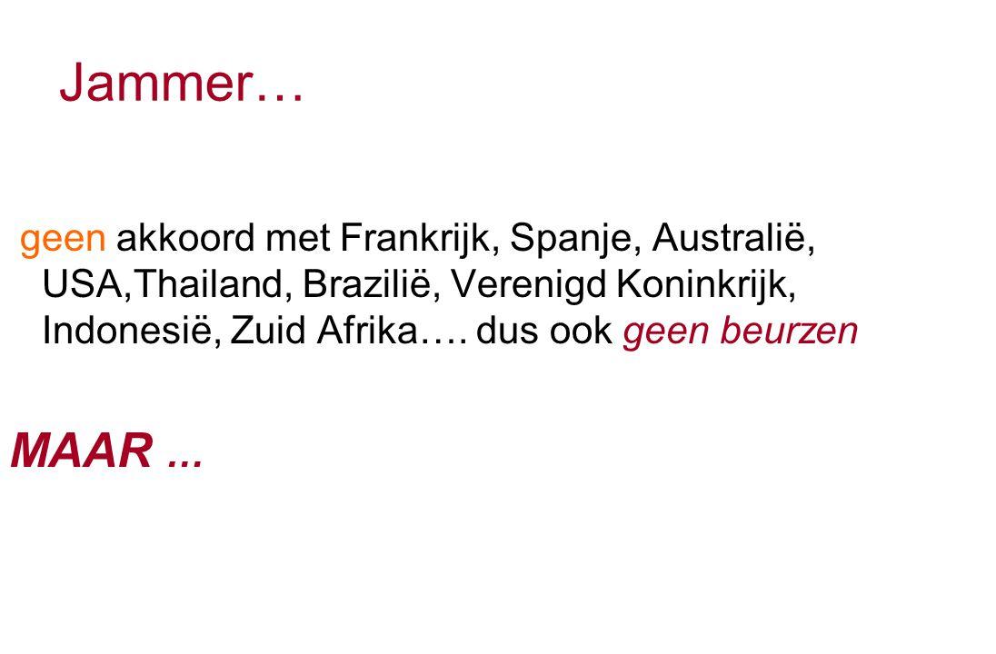 Andere aanbieders Spanje Portugal Duitsland Nederland Zweden Noorwegen Griekenland Zuid-Korea Taiwan Oostenrijk