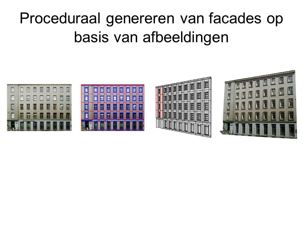 Proceduraal genereren van facades op basis van afbeeldingen
