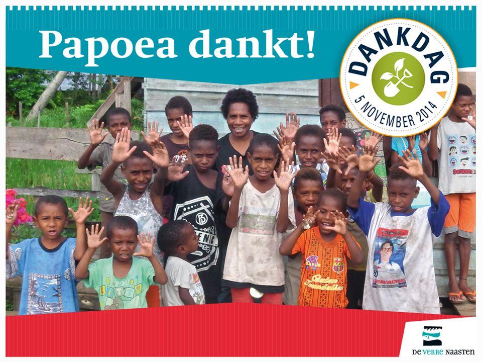 Op Papoea verandert de samenleving snel.Mensen zoeken houvast.