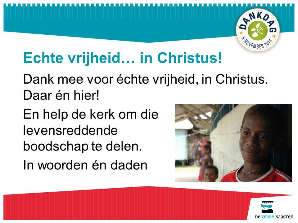 Dank mee… met Herlina Dank mee voor de mogelijkheden me in te zetten voor straatkinderen en aidspatiënten.