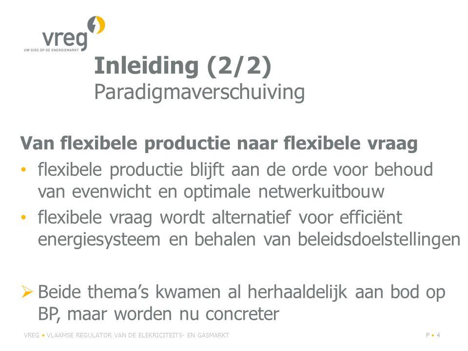 Inleiding (2/2) Paradigmaverschuiving Van flexibele productie naar flexibele vraag flexibele productie blijft aan de orde voor behoud van evenwicht en