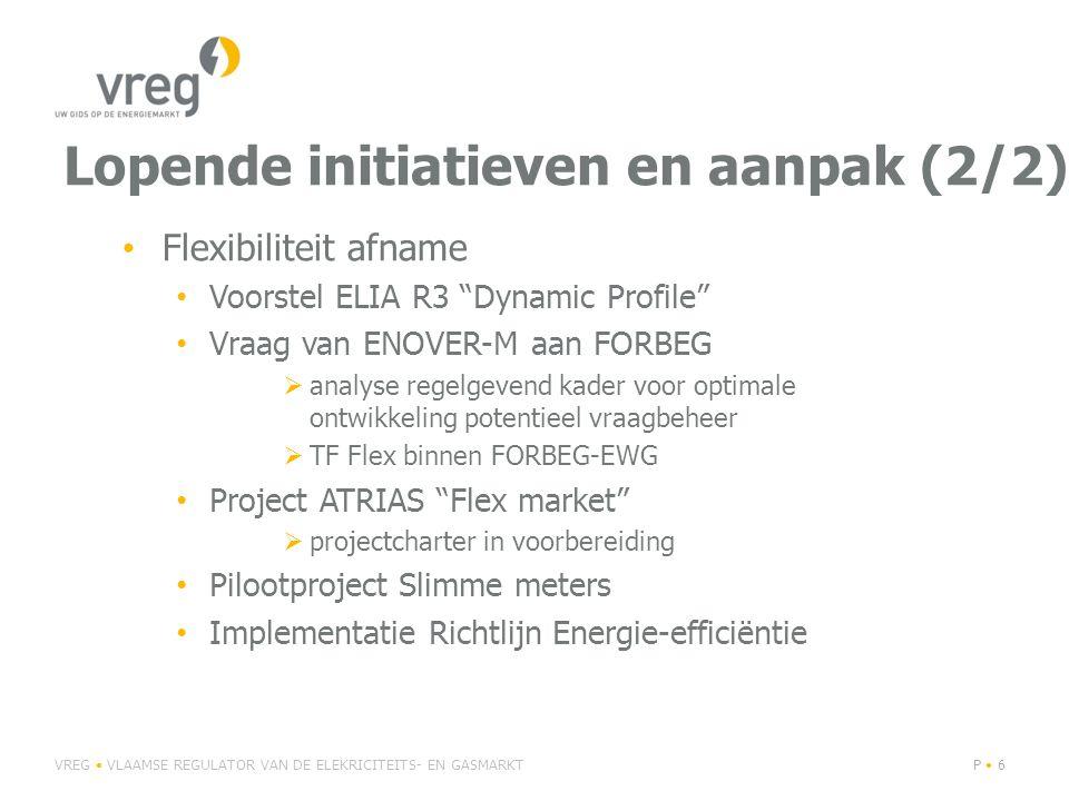 """Lopende initiatieven en aanpak (2/2) Flexibiliteit afname Voorstel ELIA R3 """"Dynamic Profile"""" Vraag van ENOVER-M aan FORBEG  analyse regelgevend kader"""