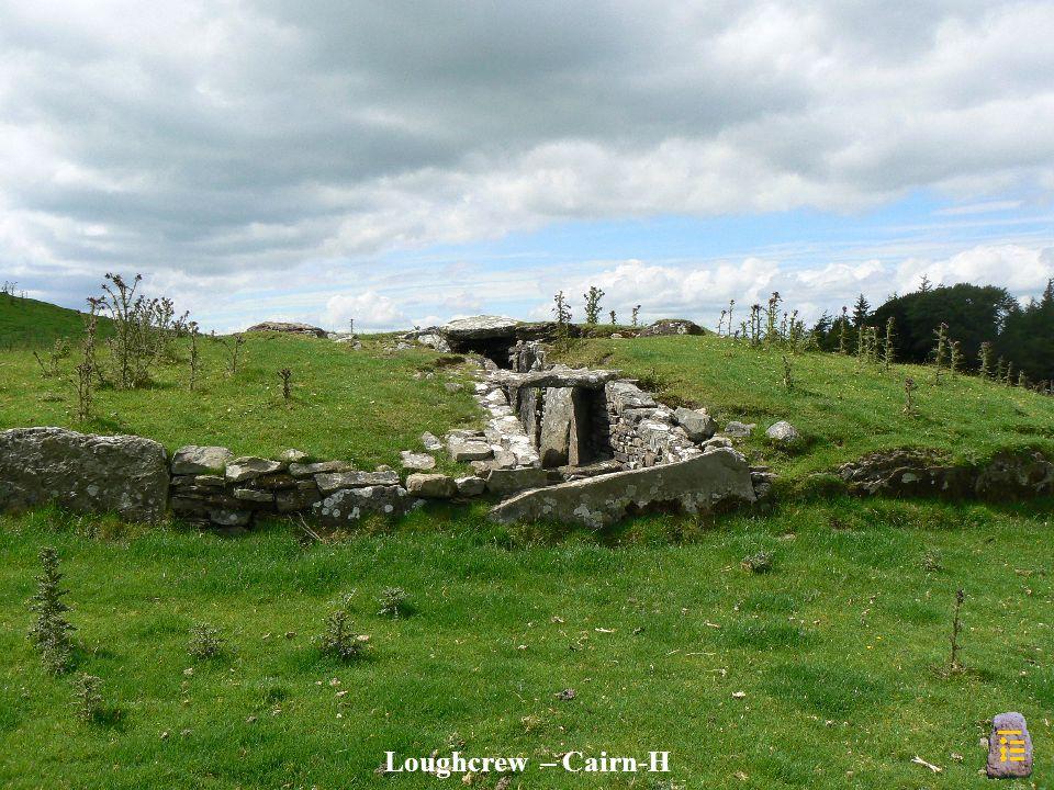 Loughcrew – Cairn-H