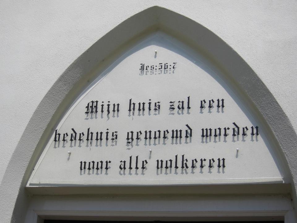 De kerk dateert uit de tweede helft van de 12 e eeuw.
