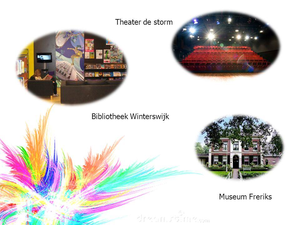 Theater de storm Bibliotheek Winterswijk Museum Freriks