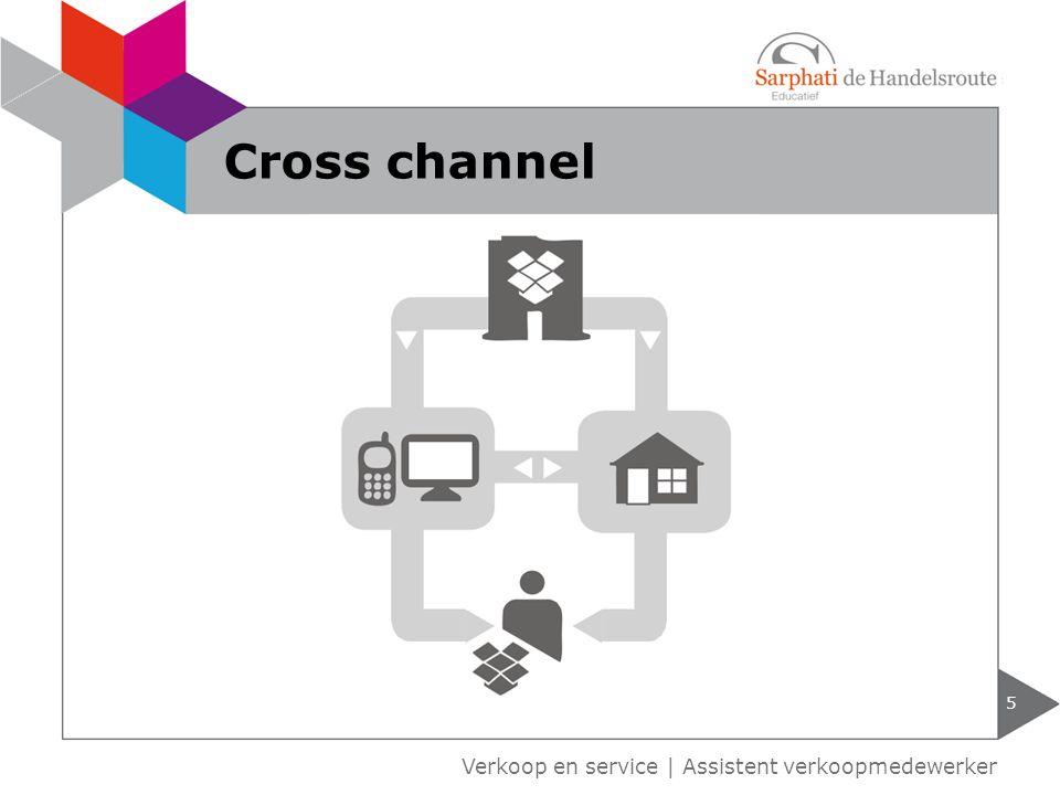 Verkoop en service | Assistent verkoopmedewerker 5 Cross channel