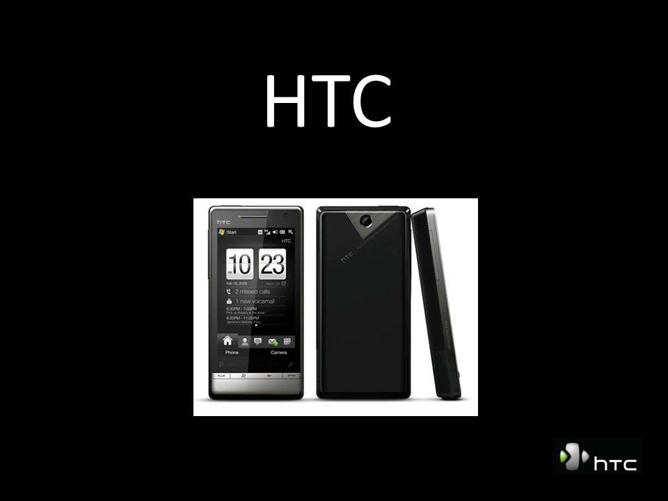 HTC in het kort Begonnen: Mei 1997 Global HQ, Taoyuan, Taiwan Beursgenoteerd in TaiPei Omzet 2007: € 2.5 mrd Ongeveer 6000 werknemers, 25 % in R&D Producten ontwikkeld voor o.a.: Qteq, Palm, HP en voor operators: Orange SPV, T-Mobile MDA