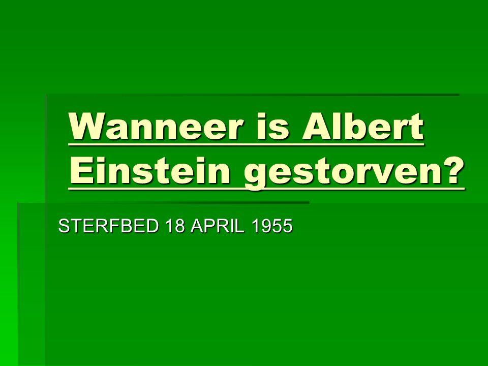 Wat is er zo speciaal aan Albert Einstein?  Natuurkunde  Nobelprijs