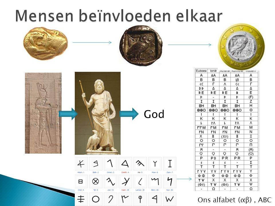 God Ons alfabet (αβ), ABC
