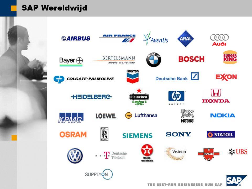 SAP Producten SAP NetWeaver SAP voor Industrie SAP xApps SAP xApp Resource & Program Mgmt SAP xApp Product Definition SAP xApp Mergers & Acquisitions...