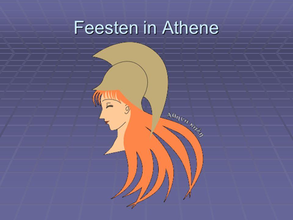 Feesten in Athene