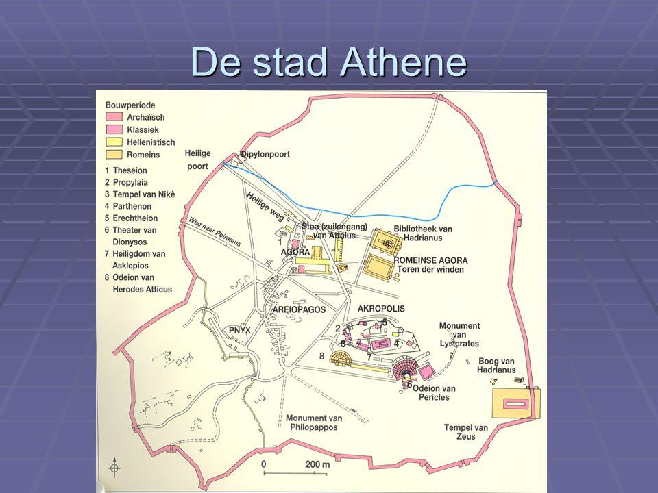 De stad Athene