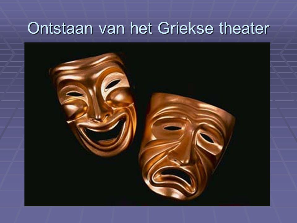 Ontstaan van het Griekse theater