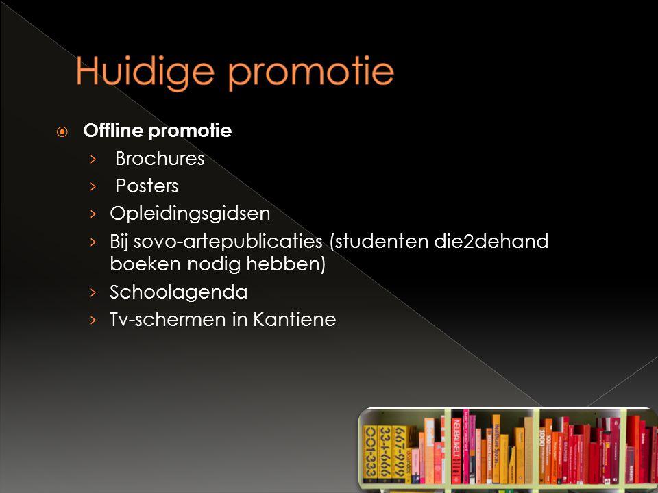  Offline promotie › Brochures › Posters › Opleidingsgidsen › Bij sovo-artepublicaties (studenten die2dehand boeken nodig hebben) › Schoolagenda › Tv-schermen in Kantiene