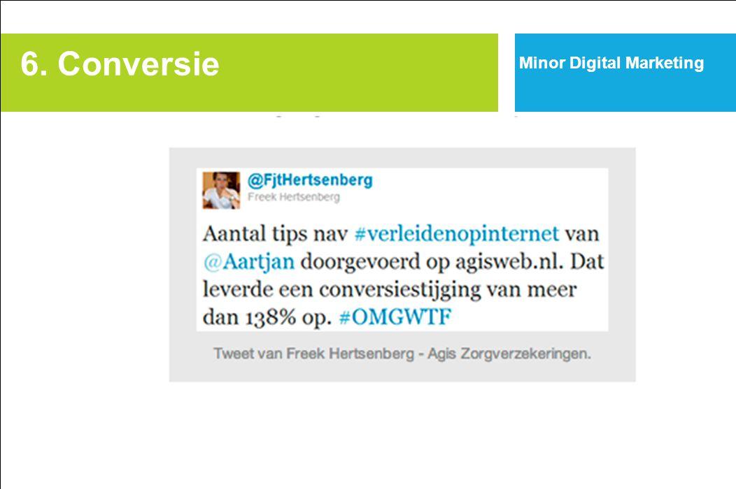 6. Conversie Minor Digital Marketing