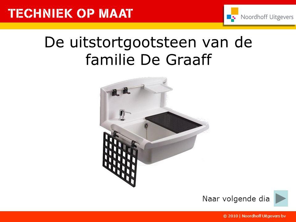 © 2010 | Noordhoff Uitgevers bv De uitstortgootsteen van de familie De Graaff Naar volgende dia