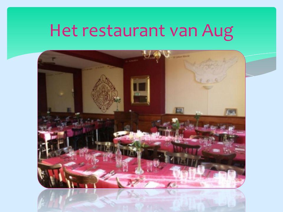 Het restaurant van Aug
