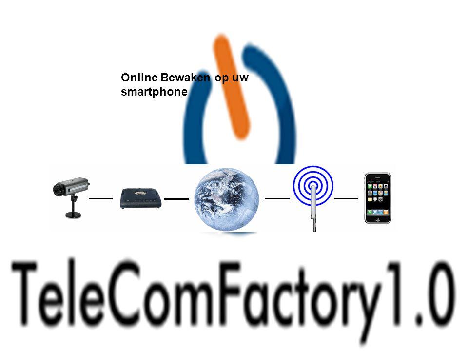 Online Bewaken op uw smartphone