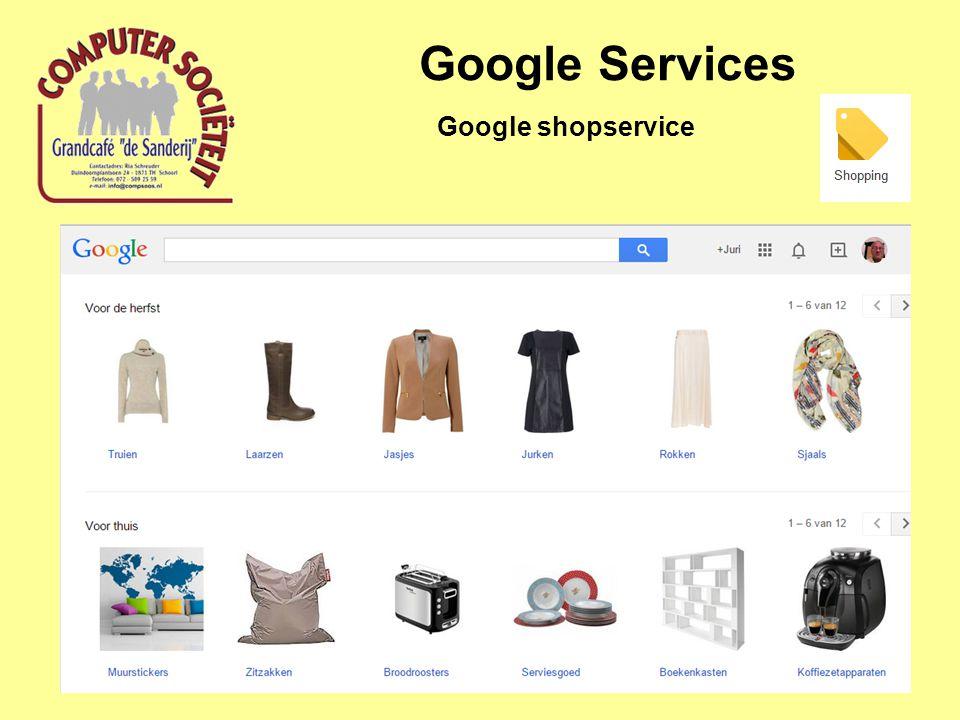 Google Services Google shopservice