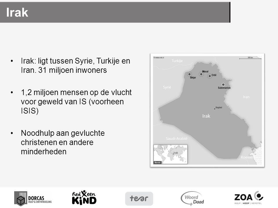 Irak Irak: ligt tussen Syrie, Turkije en Iran.