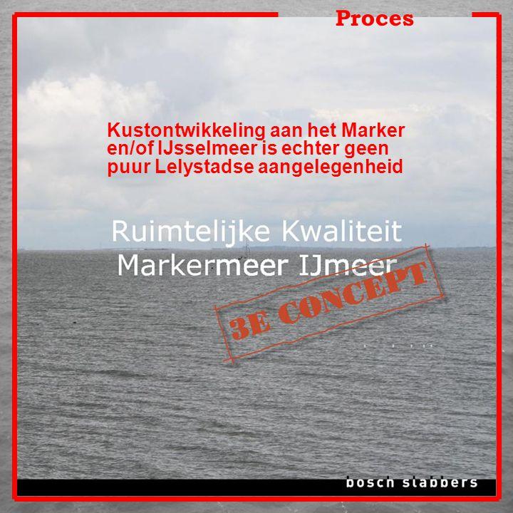 Proces Kustontwikkeling aan het Marker en/of IJsselmeer is echter geen puur Lelystadse aangelegenheid