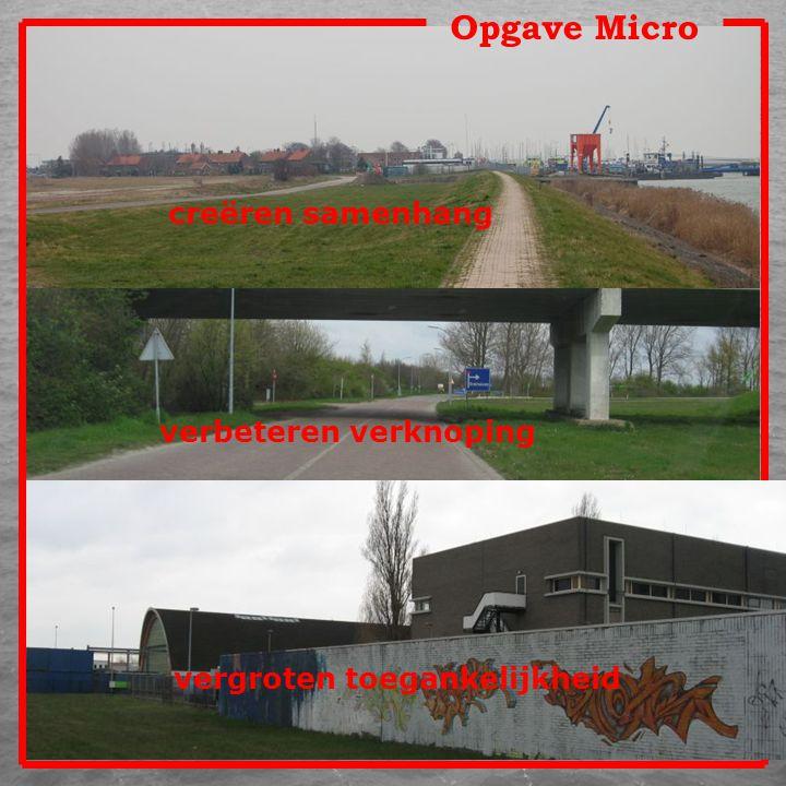 Opgave Micro creëren samenhang verbeteren verknoping vergroten toegankelijkheid