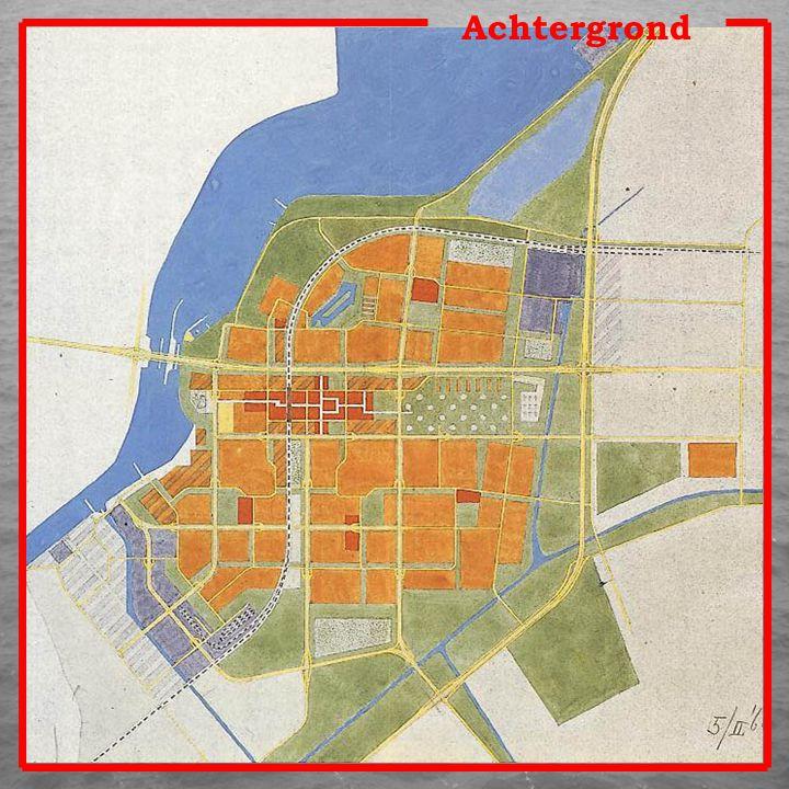 Lelystad werd een stad in de polder