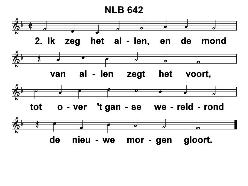 NLB 553: 1, 2, 3 en 4 Stap voor stap gaat door Jeruzalem Jezus op de rug van een ezelin.