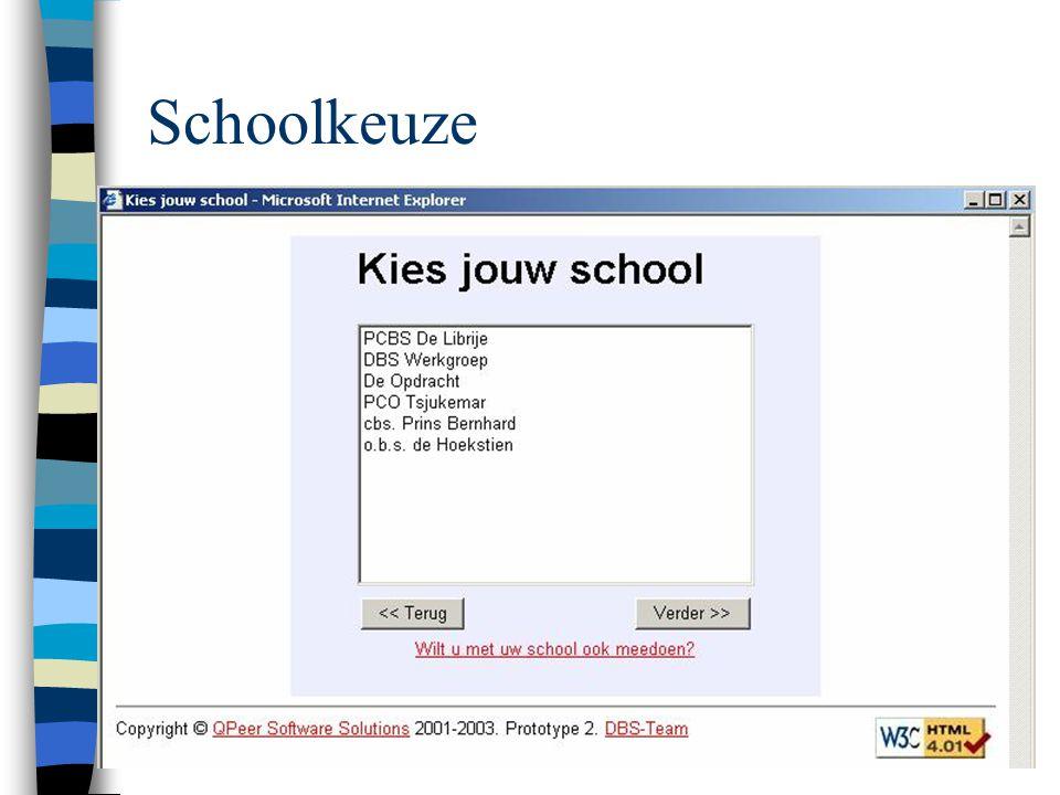 Schoolkeuze