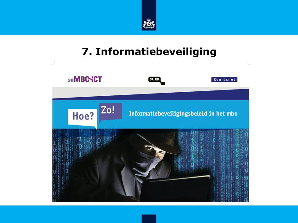 7. Informatiebeveiliging