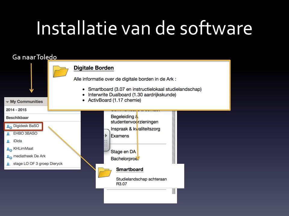 Installatie van de software In dit pdf-bestand vind je de productcode Ook terug te vinden in de facebookgroep