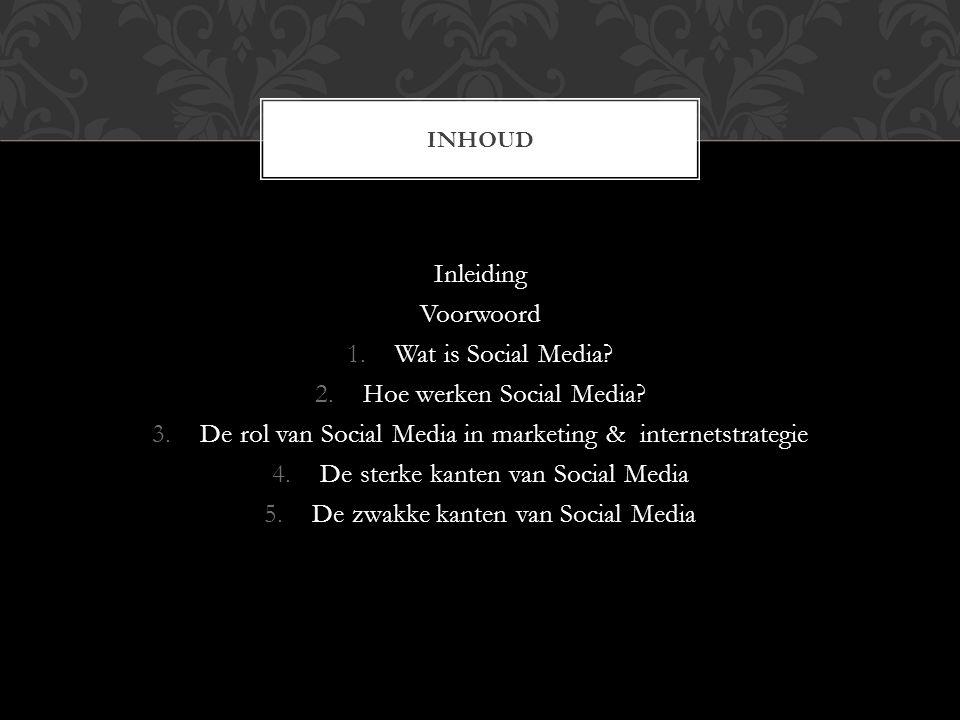 Inleiding In onze presentatie gaan we vertellen over Social Media, wat zijn de voordelen en de nadelen van Social media.
